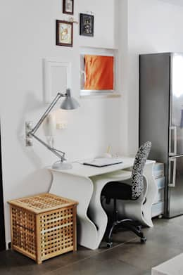 studio matteo fieni의  서재 & 사무실