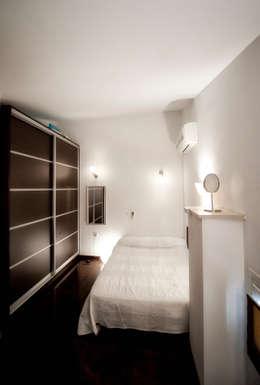 mediterranean Bedroom by studio matteo fieni