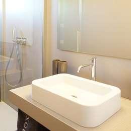 moderne Badkamer door Andrea Gaio Design