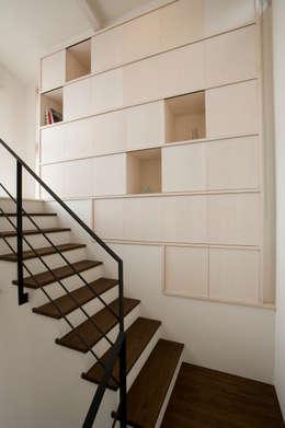 moderne Huizen door アトリエdoor一級建築士事務所