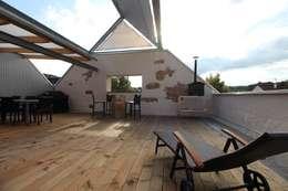 Terrasse de style  par erdudatz
