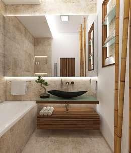 Badezimmer FUJI: Moderne Badezimmer Von Perfecto Design