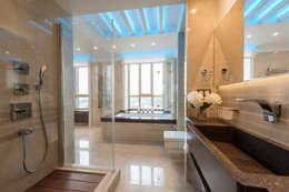 Men's apartment: Ванные комнаты в . Автор – Ольга Райская