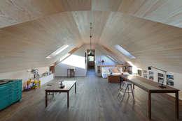 modern Study/office by Ricardo Moreno Arquitectos