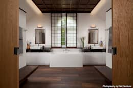 asian Bathroom by Penguin Environmental Design L.L.C.