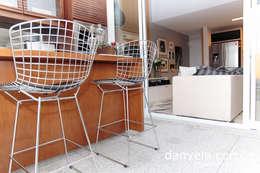 Projekty,  Salon zaprojektowane przez Danyela Corrêa