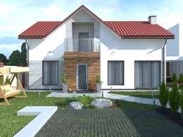 Коттедж: Дома в . Автор – Kucherenko Design