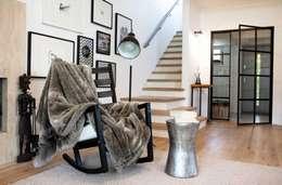 Realizacja 13 : styl , w kategorii Korytarz, przedpokój zaprojektowany przez MGN Pracownia Architektoniczna