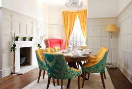 Rebecca James Studio: klasik tarz tarz Yemek Odası