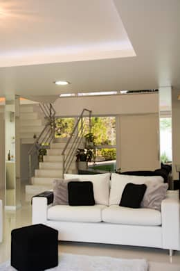 modern Living room by HAPPY Arquitetura