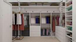 Vestidores y closets de estilo moderno por UNUM - ARQUITETURA E ENGENHARIA
