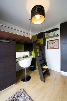 CHAMBRE D'ENFANT: Bureau de style de style Moderne par LA CUISINE DANS LE BAIN SK CONCEPT
