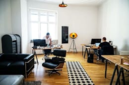 ห้องทำงาน/อ่านหนังสือ by Studio Stern