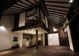 フィールド建築設計舎의  거실