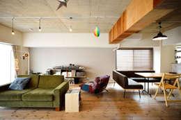 ビンテージマンションを自分色に: スタイル工房 stylekoubouが手掛けたです。