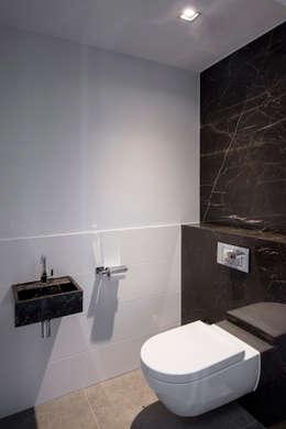 Projekty,  Łazienka zaprojektowane przez Medie Interieurarchitectuur