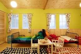 S's HOUSE: dwarfが手掛けた子供部屋です。