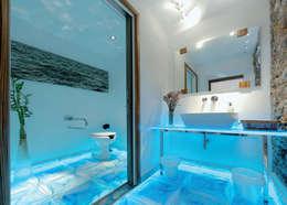 Ванные комнаты в . Автор – Rimini Baustoffe GmbH