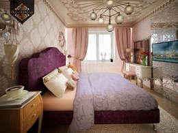 светский восток: Спальни в . Автор – Decor&Design