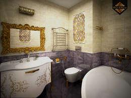 colonial Bathroom by Decor&Design