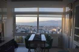ACS Mimarlık – İzmir Mimkent'te Yeni Bir Yaşam Projesi: modern tarz Mutfak