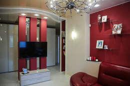 Квартира в г.Королёв: Гостиная в . Автор – Designer Olga Aysina
