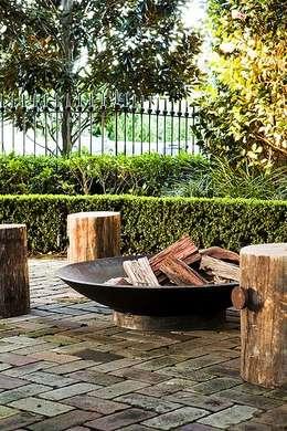 como tirar o m ximo partido do seu exterior com uma lareira. Black Bedroom Furniture Sets. Home Design Ideas