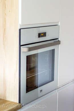 Piekarnik: styl , w kategorii Kuchnia zaprojektowany przez Sebastian Germak - Avangarda Meble