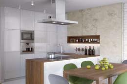 Cocinas de estilo moderno por Kunkiewicz Architekci