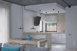 modern Kitchen by Kunkiewicz Architekci