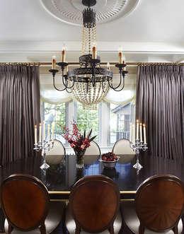 Maison Victorienne: Salle à manger de style de style Classique par ANNA DUVAL