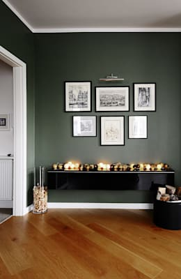 Mieszkanie? Naturalnie! - salon: styl , w kategorii Salon zaprojektowany przez IDeALS   interior design and living store