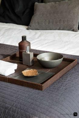 industrial Bedroom by Mariska Jagt Interior Design