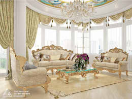 classic Living room by АвтоСтрой