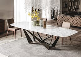 modern Dining room by Versat
