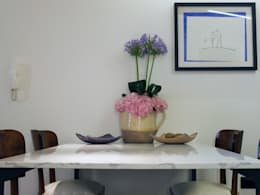 mediterranean Dining room by Ossigeno Architettura