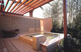 Projekty,  Basen zaprojektowane przez 小林福村設計事務所/KOBAYASHIFUKUMURA ARCHITECTS