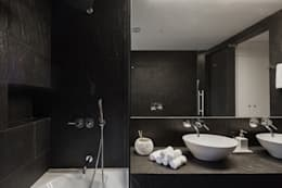 minimalistic Bathroom by Vanessa Santos Silva   Arquiteta
