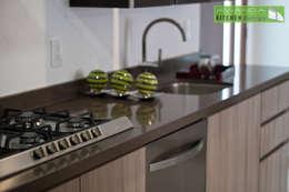 Cocinas de estilo moderno por Avianda Kitchen Design