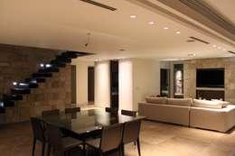 Comedores de estilo moderno por cm espacio & arquitectura srl