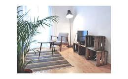 Salon de style de style Moderne par SUIN design studio