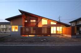 陽ごこちの家  群馬県 高崎市: 田村建築設計工房が手掛けた家です。