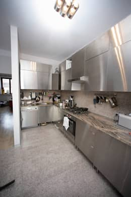 Przebudowa Domu : styl , w kategorii Kuchnia zaprojektowany przez pracownia architektoniczno-konserwatorska festgrupa