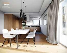 moderne Eetkamer door Słoneczne Domy Pracownia Architektury