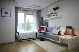 one room : design seoha의  거실