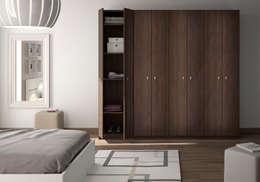 Armoire-dressing avec portes battantes: Chambre de style de style Moderne par Centimetre.com