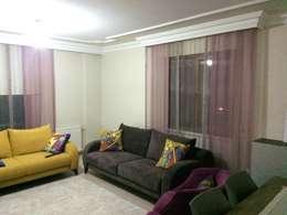 Perdecim - Mert Rodoplu – değişim güzeldir..: modern tarz Oturma Odası
