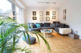Ein Reihenhaus Zum Wohlfhlen Moderne Wohnzimmer Von Zimmermanns Kreatives Wohnen