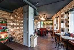 Comedores de estilo industrial por EUGENE MESHCHERUK   |  architecture & interiors