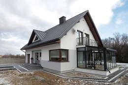 Biuro Projektów MTM Styl - domywstylu.pl: modern tarz Evler